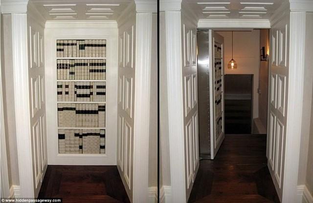 Với những người yêu sách, chiếc tủ sách không chỉ là vật trang trí mà còn là nơi mở ra một thế giới bí mật khác.