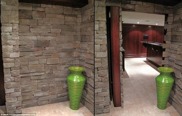 Bức tường đá này dường như là đoạn cuối của con đường nhưng thực chất là lỗi mở của một căn phòng mới.