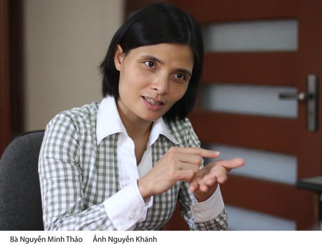 Bà Nguyễn Minh Thảo - Ảnh: N. Khánh