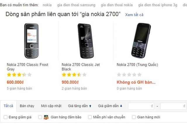 Người dùng cần cảnh giác với những chiếc điện thoại Trung Quốc giá rẻ bán nhiều trên mạng. (Ảnh chụp màn hình minh họa)