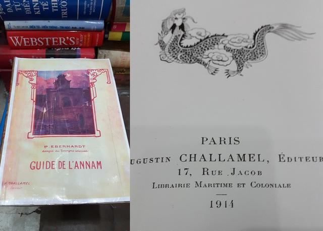 Bản Foto của cuốn sách được ông Dư giới thiệu là siêu hiếm. Sách được in vào năm 1914.