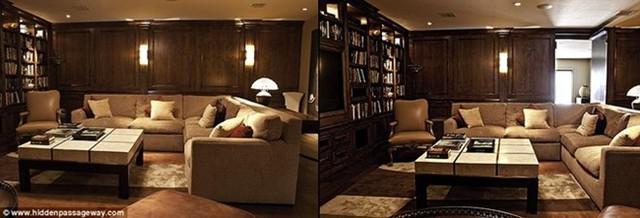 Chủ nhà phải tốn ít nhất 6.500 USD và 8 tuần để biến căn phòng vốn có thành phòng bí mật.