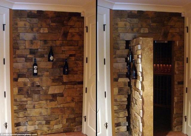 Đây cũng có thể là căn hầm để cất giữ nhiều loại rượu quý.