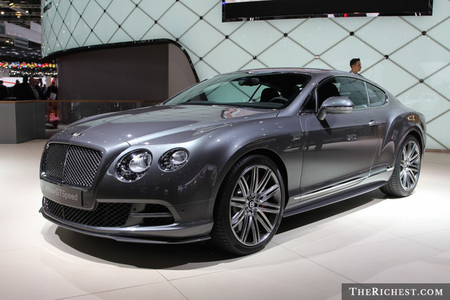 Speed shutterstock_Bentley Continental GT