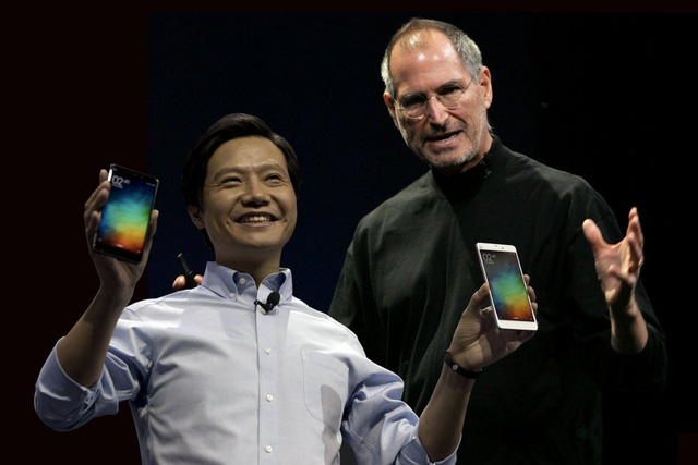 Its no accident: Lei Jun has consciously modelled himself after late Apple CEO Steve Jobs after reading about him at college, according to Bloomberg.