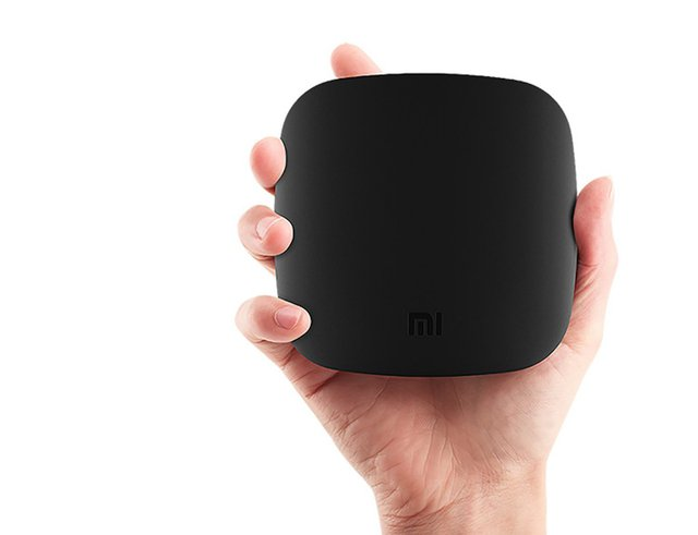 Heres the Mi Box, the Chinese startups TV-streaming box.