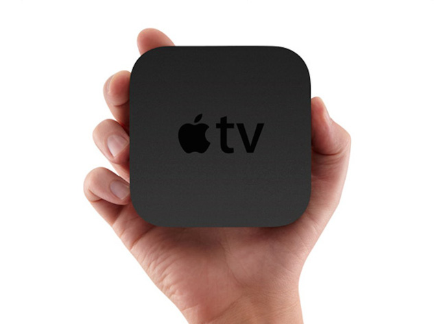 Its very similar to Apple TV, Apples own TV-streaming hardware.
