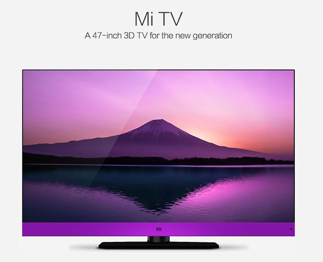 Not all of Xiaomis products have an obvious Apple analogue, of course. Xiaomi sells the Mi TV, a 3D smart TV. Its an area Apple hasnt explored.