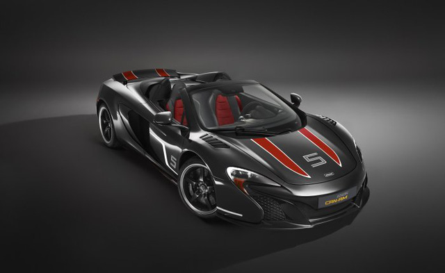 McLaren 650S Can-Am đen Onyx Black