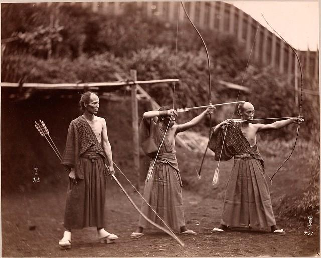 3 cung thủ Nhật Bản - 1860