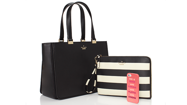 Túi xách thời trang sạc được điện thoại của Kate Spade