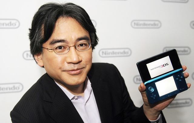 CEO của Nintendo - ông Satoru Iwata vừa qua đời hôm 11/7