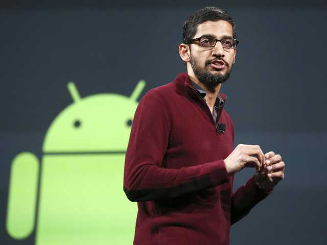 Sundar Pichai - CEO mới của Google