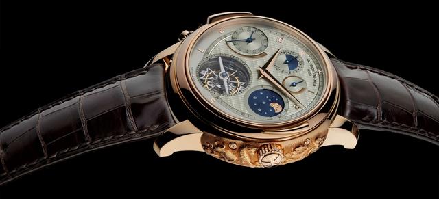 Chiếc Vacheron Constantin Vladimir do một yếu nhân người Nga thực hiện. Được biết chiếc đồng hồ này được phát triển từ bộ sưu tập kỷ niệm 250 năm thành lập hãng, với số cơ chế phức tạp tới nay vẫn là hàng đầu đối với Vacheron Constantin.