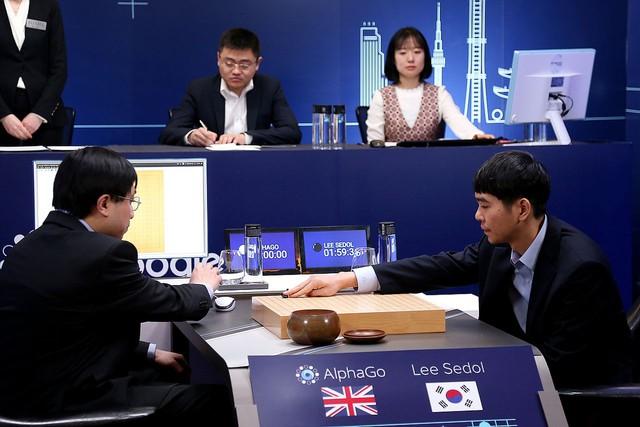 Chiến thắng lịch sử của AlphaGo.