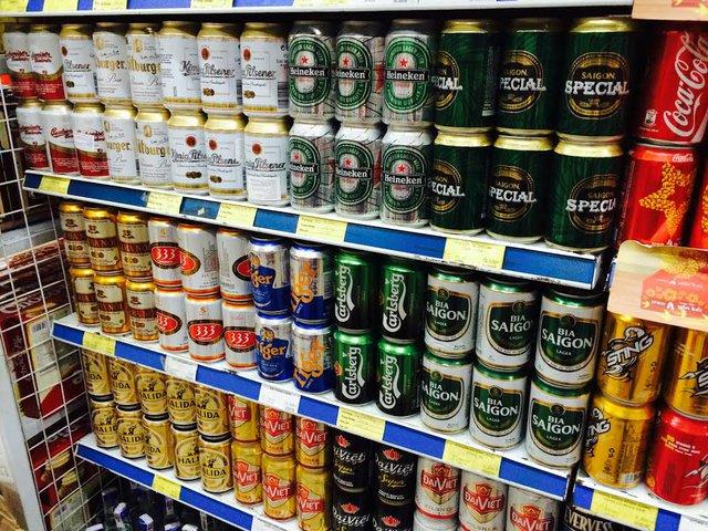 Giá bia Tết đang nhảy múa