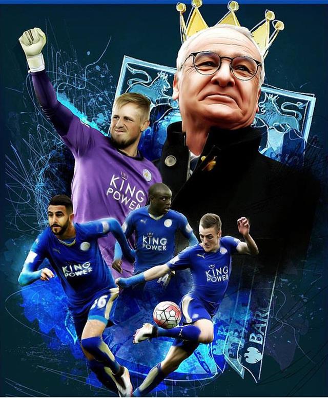 Leicester đã giành chức vô địch lịch sử