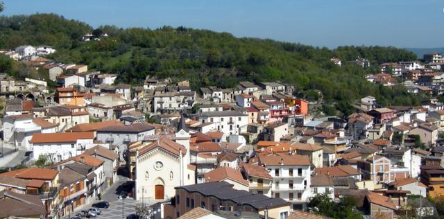 Quang cảnh thị trấn San Sossio Baronia. Ảnh: Viaggio Inirpinia