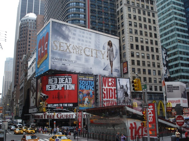 Một khu vực khác ở New York.