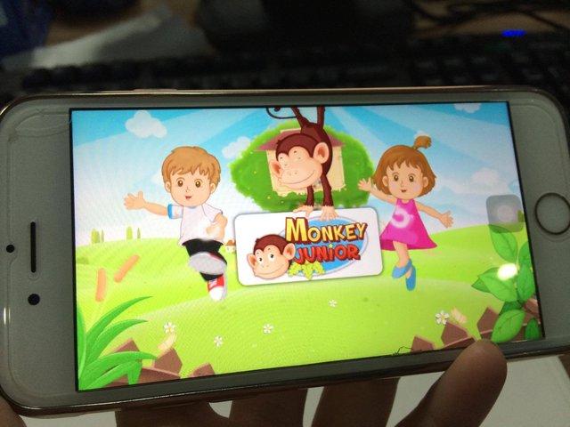 Ứng dụng đã có hơn 600.000 người dùng. Phần lớn các phụ huynh ở Mỹ sử dụng Monkey Junior để dạy con học đọc. Ảnh: M.L.