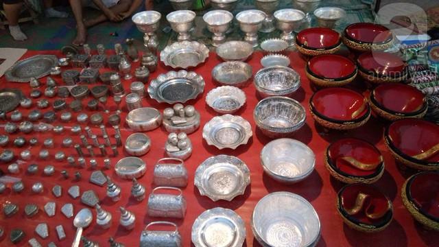 Các sản phẩm thủ công của Lào rất đặc sắc và đa dạng.