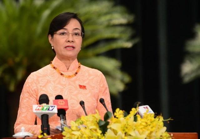 Chủ tịch HĐND Thành phố Hồ Chí Minh Nguyễn Thị Quyết Tâm