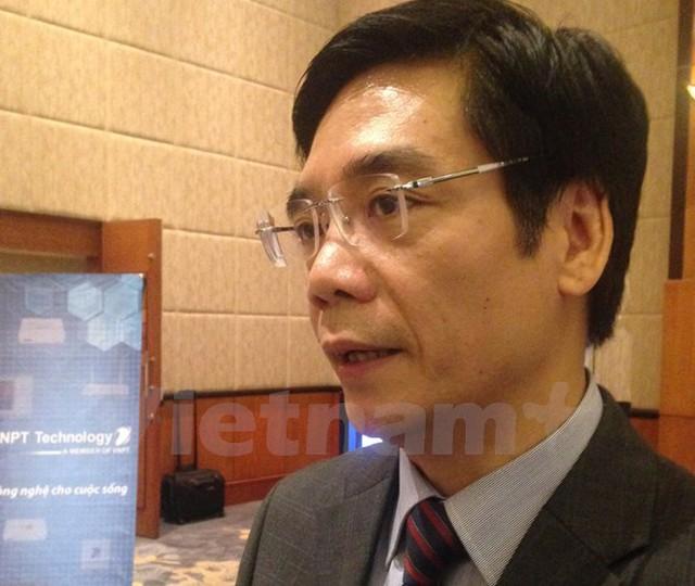 Ông Đoàn Duy Khương, Phó Chủ tịch Phòng Thương mại và Công nghiệp Việt Nam. (Ảnh: Đức Duy/Vietnam+)