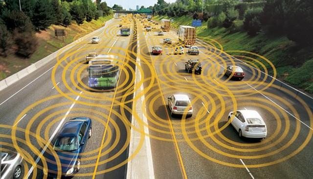 Hình ảnh minh họa công nghệ DSRC.