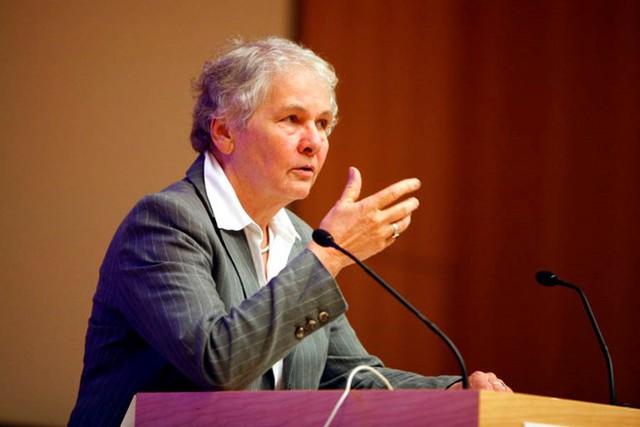 Christiane Nüsslein-Volhard, nhà khoa học người Đức.