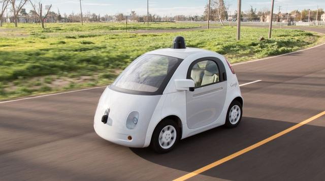 Xe tự hành của Google sẽ được...dán keo?