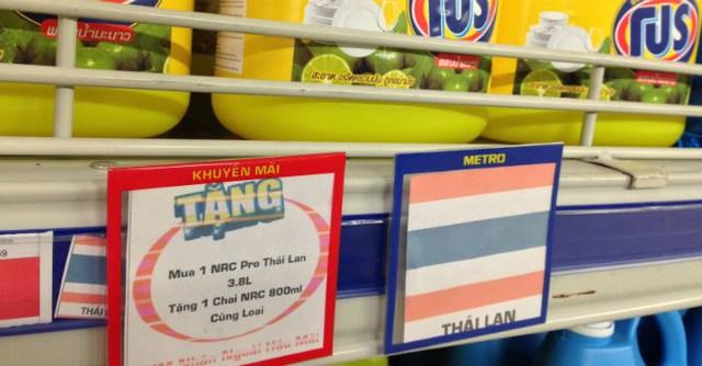 Metro Việt Nam (Đức) đã chính thứ về tay BJC (Thái Lan), hàng Thái sẽ hiện diện nhiều hơn tại Metro. Ảnh N.Thảo