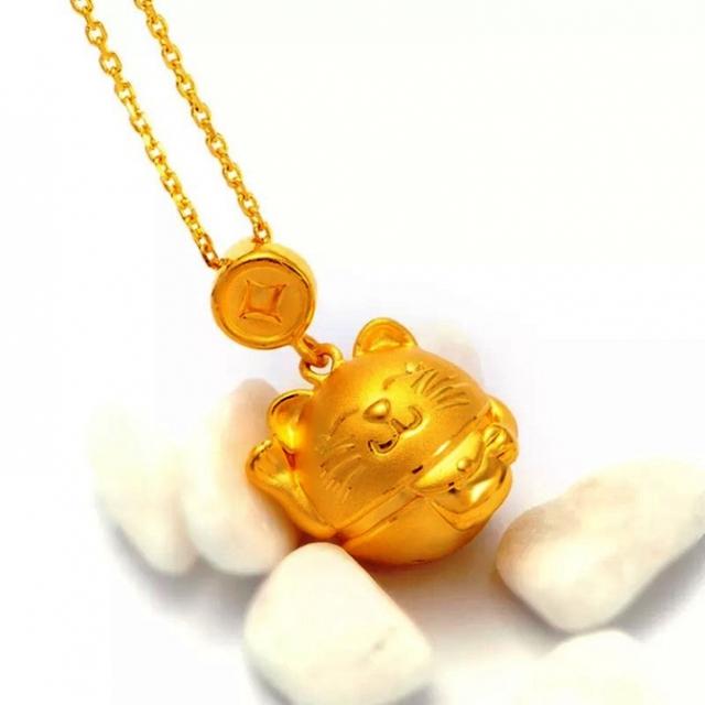 Mèo chiêu tài bằng vàng