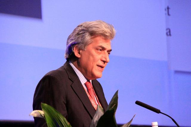 Chủ tịch của REN21, ông Arthouros Zervos.
