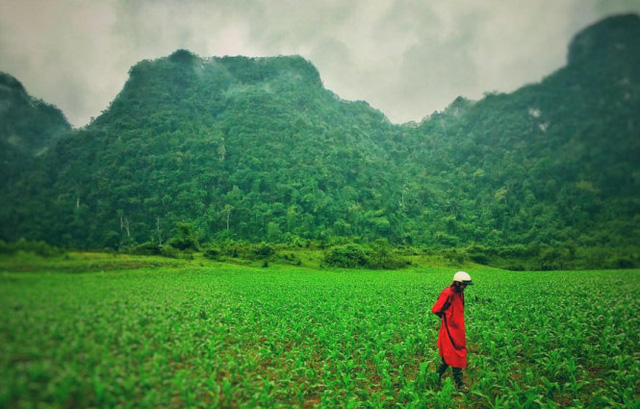 Cảnh đẹp nơi đoàn phim quay ở Việt Nam. Ảnh: đạo diễn Jordan Vogt Robert đăng tải trên mạng ngày 24-2.