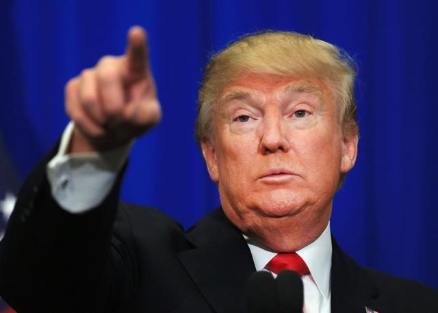 Ứng viên tổng thống Mỹ của Đảng Cộng hòa, Donald Trump.