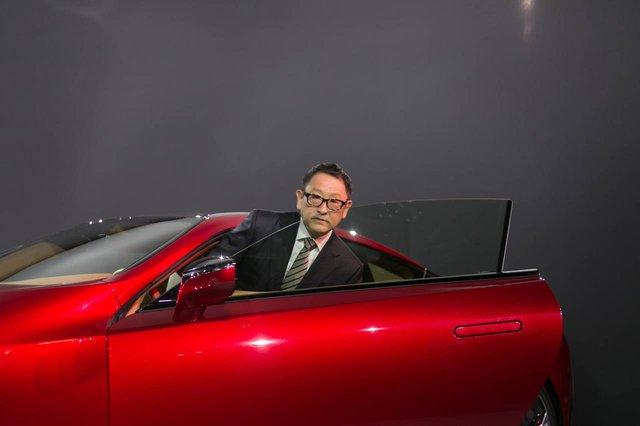 Chủ tịch Akio Toyoda của Toyota