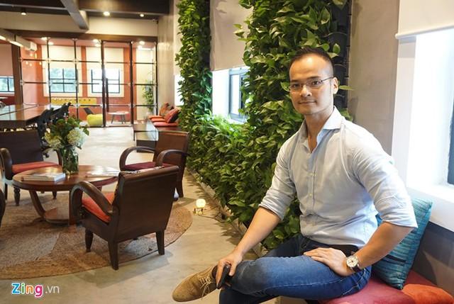 Anh Đỗ Sơn Dương - CEO và Founder của Toong. Ảnh: Zing.
