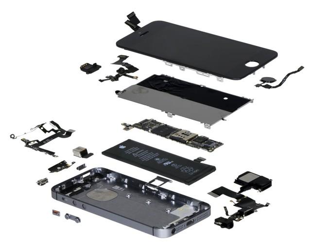 Hình ảnh iPhone SE được IHS rã máy.