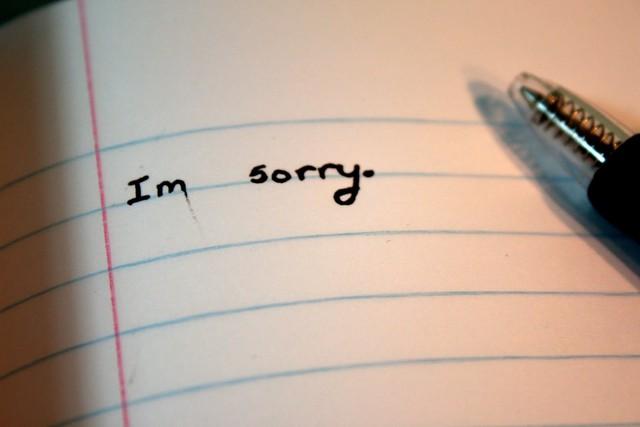 Nói lời xin lỗi không đơn giản như ta tưởng.