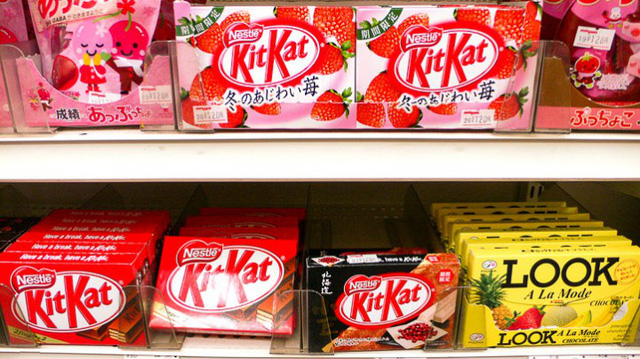 Kit Kat vị dâu tâu được yêu thích tại Nhật