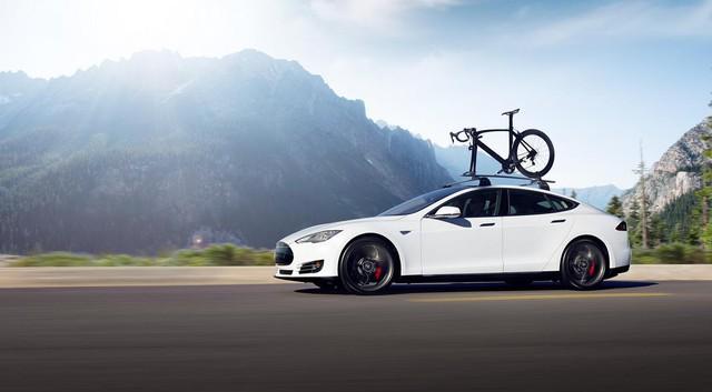 Chiếc Tesla Model S.