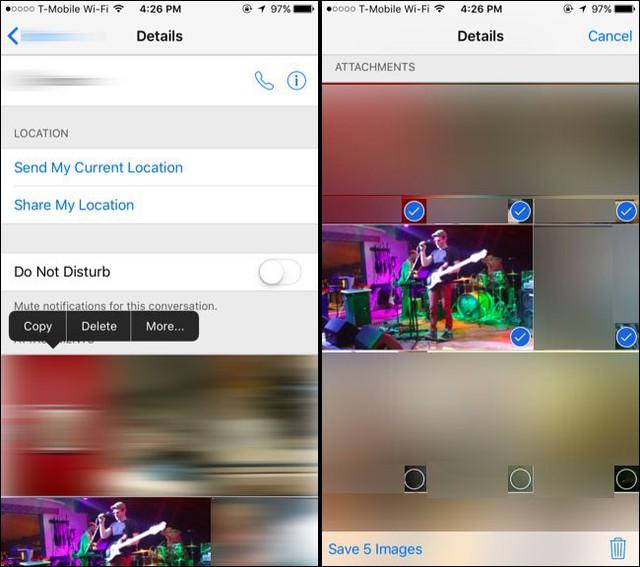 Tương tự, nếu bạn muốn lưa giữ hình ảnh vào máy, chọn Lưu ảnh góc cuối màn hình bên trái