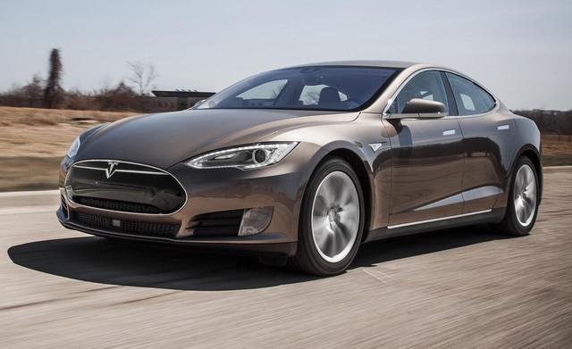 Mẫu Tesla Model S cũ
