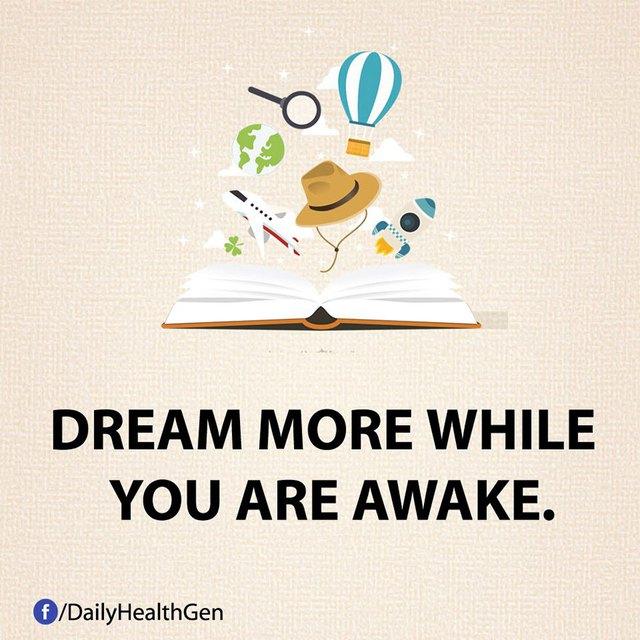 #4 Hãy ước mơ khi bạn thức chứ không phải trong lúc ngủ