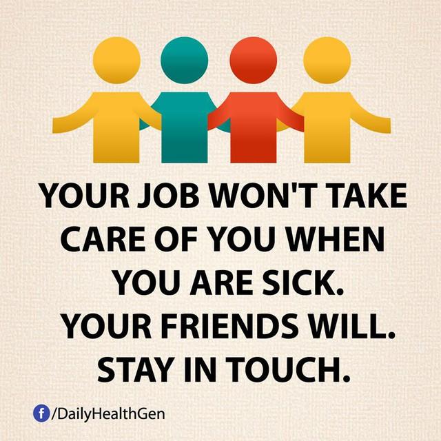 #17 Giữ mối quan hệ với bạn bè