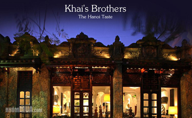 Voucher Khai'Brothers tại Nhóm mua.