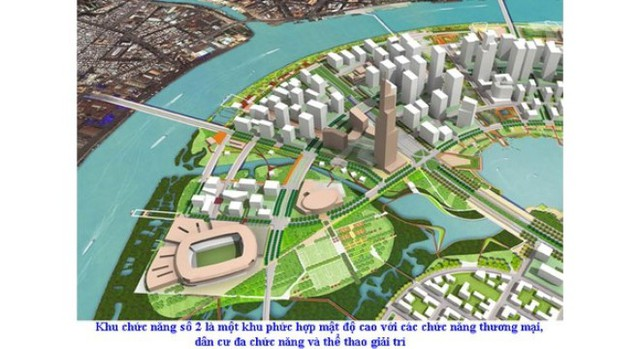 Khu phức hợp kinh doanh - giải trí Eco Smart City quy mô 100.000 m2 của Lotte sẽ được xây dựng ở Thủ Thiêm, TPHCM.