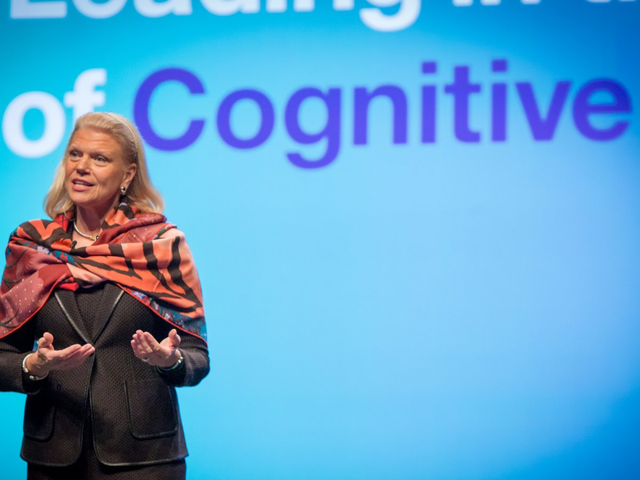 CEO của IBM, bà Ginni Rometty.