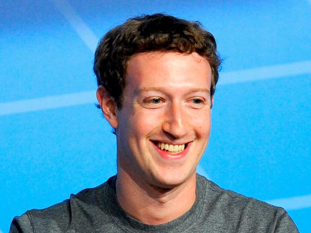 Giám đốc điều hành Facebook Mark Zuckerberg Ảnh .David Ramos / Getty