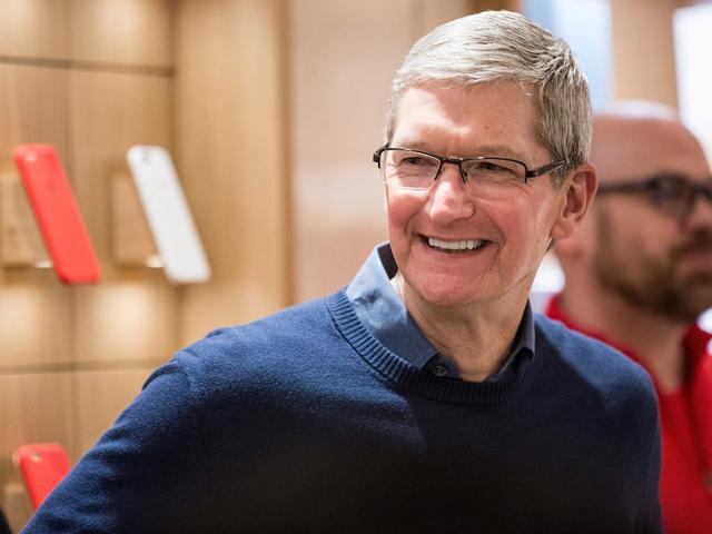 Tim Cook, Giám đốc điều hành của Apple Ảnh: Andrew Burton